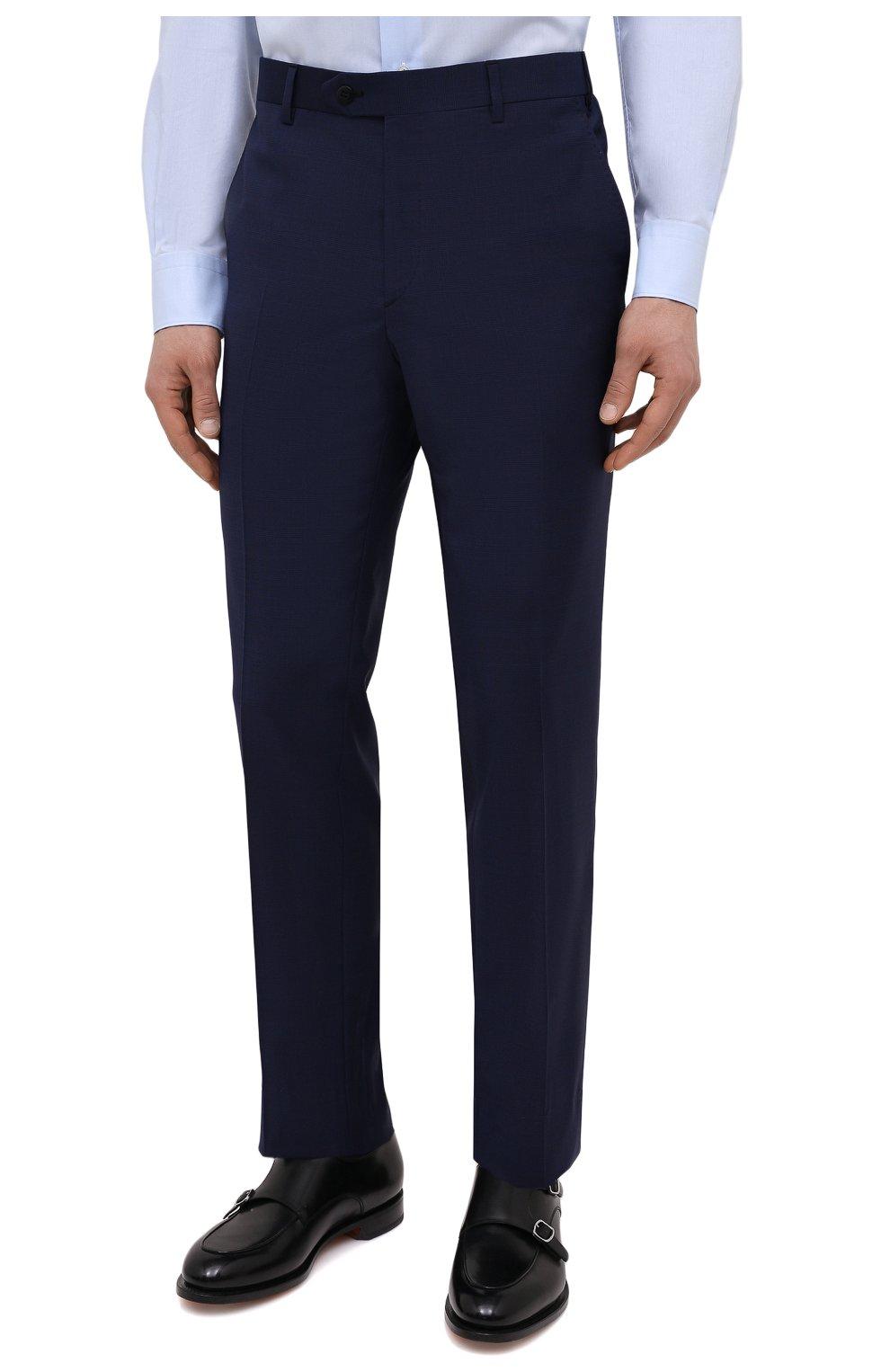 Мужской шерстяной костюм BRIONI синего цвета, арт. RA0B0U/P0A15/PRE C0UTURE | Фото 4