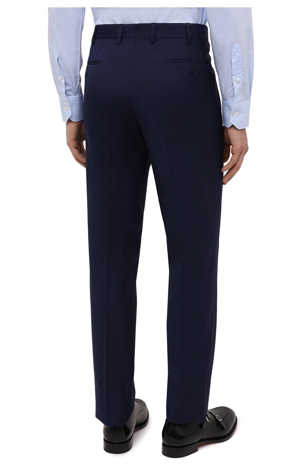 Мужской шерстяной костюм BRIONI синего цвета, арт. RA0B0U/P0A15/PRE C0UTURE | Фото 5