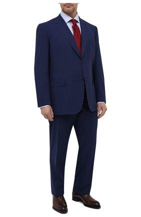 Мужской шерстяной костюм CANALI темно-синего цвета, арт. 11280/10/AR02031/60-64   Фото 1