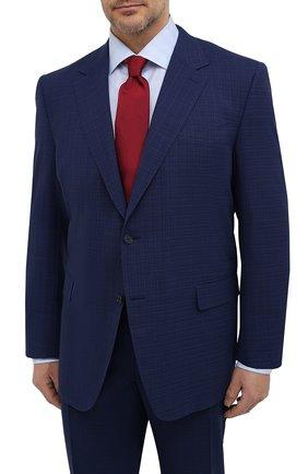 Мужской шерстяной костюм CANALI темно-синего цвета, арт. 11280/10/AR02031/60-64   Фото 2