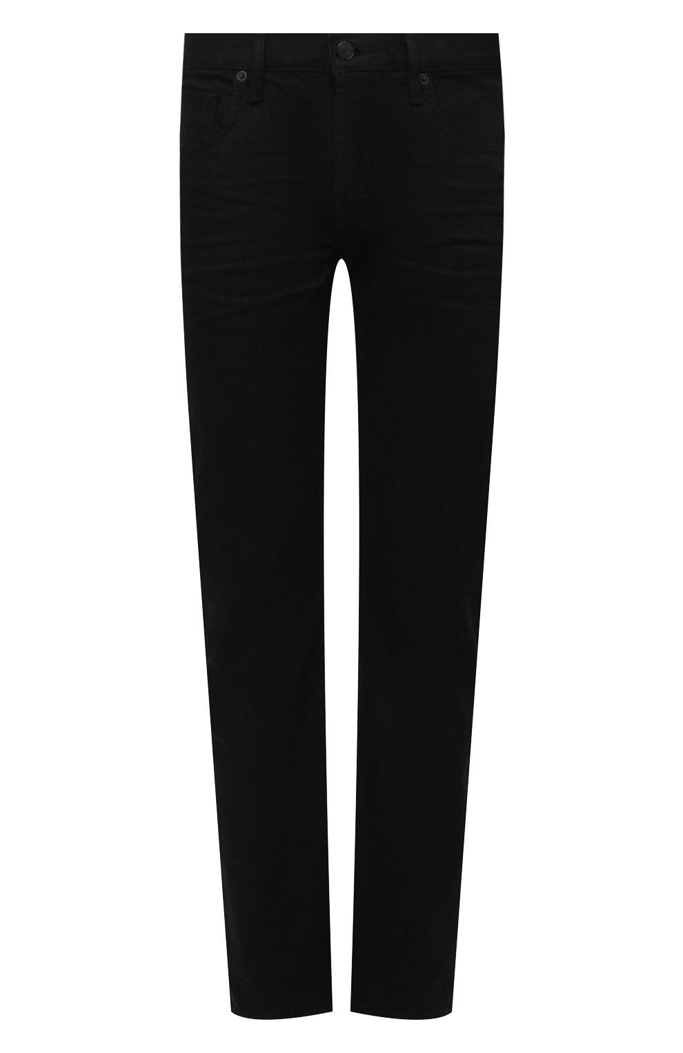 Мужские джинсы TOM FORD черного цвета, арт. BWJ50/TFD002   Фото 1