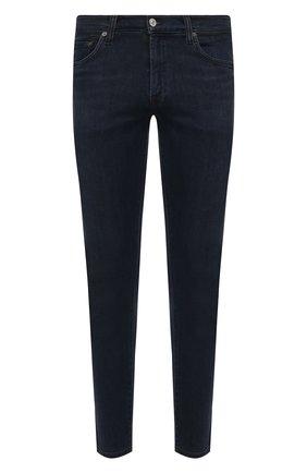 Мужские джинсы CITIZENS OF HUMANITY темно-синего цвета, арт. 6170D-927   Фото 1 (Длина (брюки, джинсы): Стандартные; Материал внешний: Хлопок, Деним; Стили: Кэжуэл; Кросс-КТ: Деним; Силуэт М (брюки): Прямые)