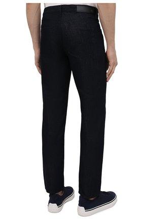 Мужские джинсы GIORGIO ARMANI темно-синего цвета, арт. 3KSJ15/SD0IZ | Фото 4
