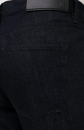 Мужские джинсы GIORGIO ARMANI темно-синего цвета, арт. 3KSJ15/SD0IZ | Фото 5