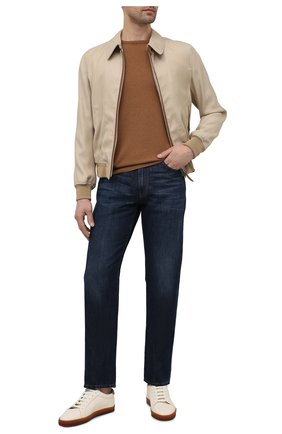 Мужские джинсы GIORGIO ARMANI синего цвета, арт. 3KSJ15/SD0IZ | Фото 2