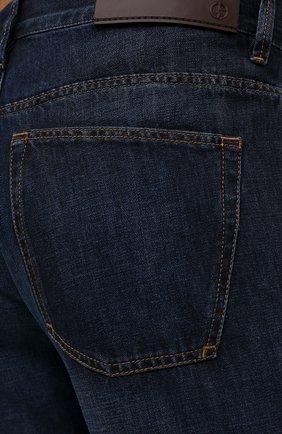 Мужские джинсы GIORGIO ARMANI синего цвета, арт. 3KSJ15/SD0IZ | Фото 5