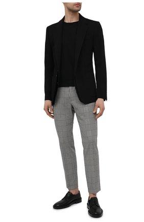 Мужской шерстяной пиджак DOLCE & GABBANA черного цвета, арт. G2PK8T/FU2MM | Фото 2