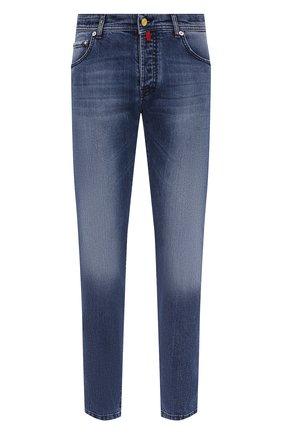 Мужские джинсы KITON синего цвета, арт. UPNJS/J07T20 | Фото 1