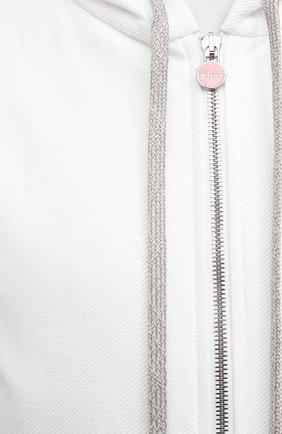 Мужской хлопковый спортивный костюм KITON белого цвета, арт. UMK0032 | Фото 6