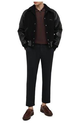 Мужские брюки KITON черного цвета, арт. UFPLACJ06T91 | Фото 2