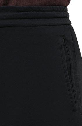 Мужские брюки KITON черного цвета, арт. UFPLACJ06T91   Фото 5