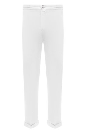 Мужские брюки KITON белого цвета, арт. UFPLACJ06T91 | Фото 1