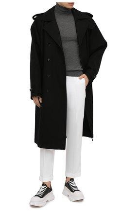 Мужские брюки KITON белого цвета, арт. UFPLACJ06T91 | Фото 2