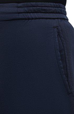 Мужские брюки KITON темно-синего цвета, арт. UFPLACJ06T91   Фото 5