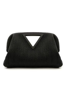 Мужская кожаная сумка point BOTTEGA VENETA черного цвета, арт. 659479/V0TB1 | Фото 1