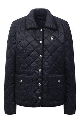 Женская стеганая куртка POLO RALPH LAUREN черного цвета, арт. 211798836 | Фото 1