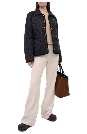 Женская стеганая куртка POLO RALPH LAUREN черного цвета, арт. 211798836 | Фото 2