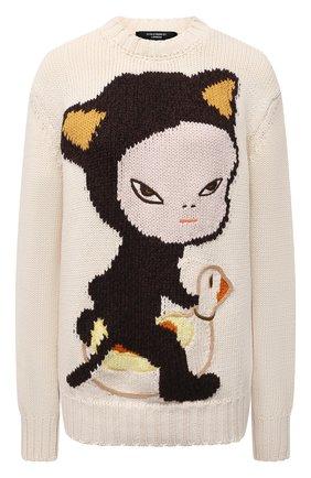 Женский хлопковый свитер STELLA MCCARTNEY разноцветного цвета, арт. 583371/S7228 | Фото 1