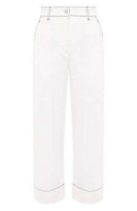 Женские джинсы LORO PIANA белого цвета, арт. FAL5555 | Фото 1