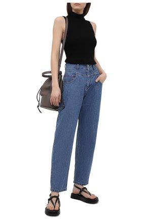 Женские джинсы FORTE DEI MARMI COUTURE синего цвета, арт. 21SF9055 | Фото 2