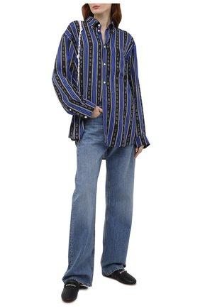 Женские кожаные сабо elba GIVENCHY черного цвета, арт. BE200WE0XT | Фото 2