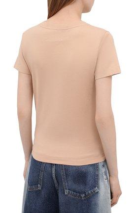 Женская набор из трех футболок MM6 разноцветного цвета, арт. S62GD0087/S23901 | Фото 2