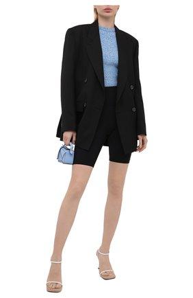 Женский пуловер из вискозы OFF-WHITE голубого цвета, арт. 0WHE039S21KNI002 | Фото 2