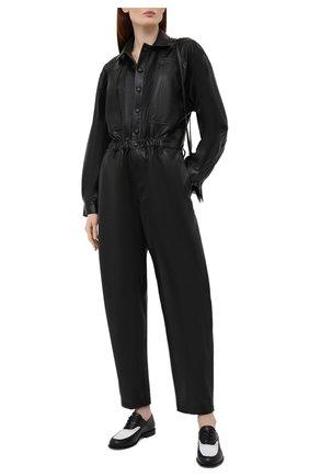 Женский комбинезон из экокожи AGOLDE черного цвета, арт. A8022-1287 | Фото 2