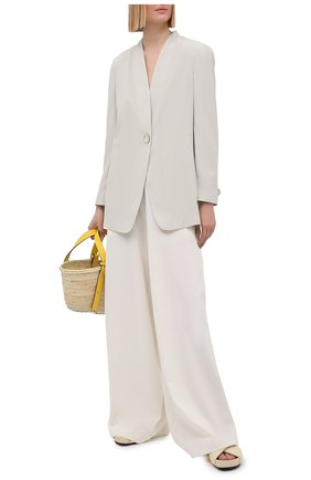 Женский жакет GIORGIO ARMANI белого цвета, арт. 1SHGG0KR/T02AW | Фото 2