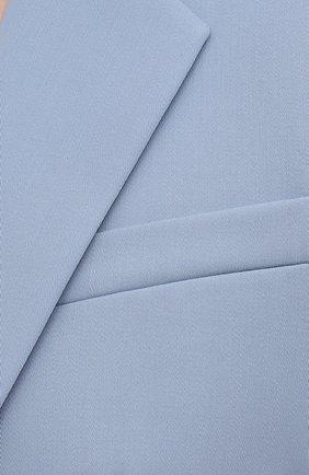 Женский шерстяной жакет RALPH LAUREN синего цвета, арт. 290842585 | Фото 5