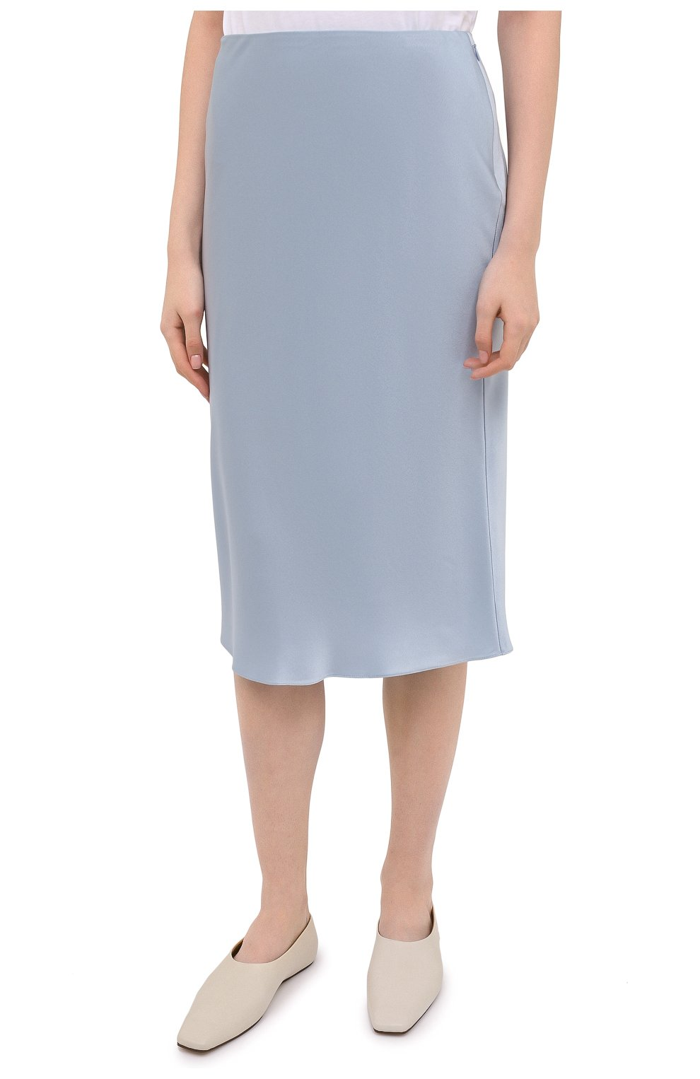 Женская юбка RALPH LAUREN синего цвета, арт. 290840904 | Фото 3