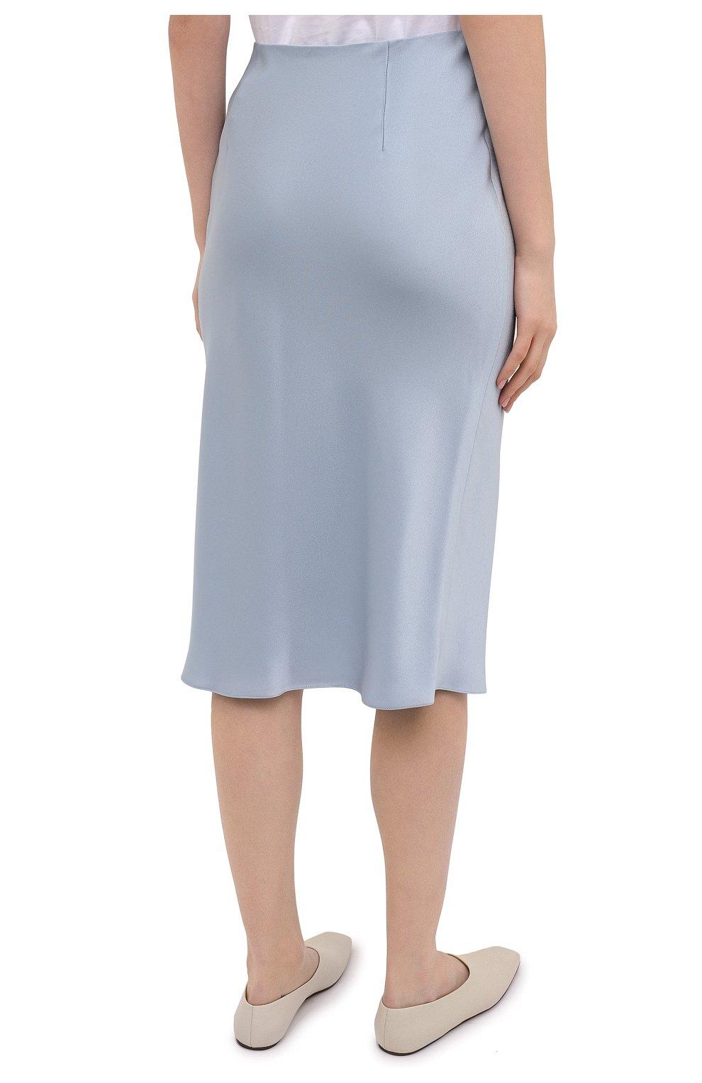 Женская юбка RALPH LAUREN синего цвета, арт. 290840904 | Фото 4