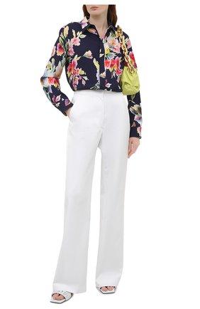 Женская рубашка из вискозы и шелка RALPH LAUREN разноцветного цвета, арт. 290840859 | Фото 2