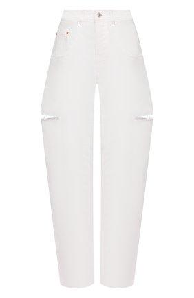 Женские джинсы FORTE DEI MARMI COUTURE белого цвета, арт. 21SF9053-3 | Фото 1