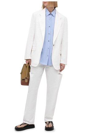 Женские джинсы FORTE DEI MARMI COUTURE белого цвета, арт. 21SF9053-3 | Фото 2