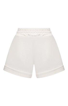 Женские хлопковые шорты FORTE DEI MARMI COUTURE кремвого цвета, арт. 21SF9883 | Фото 1