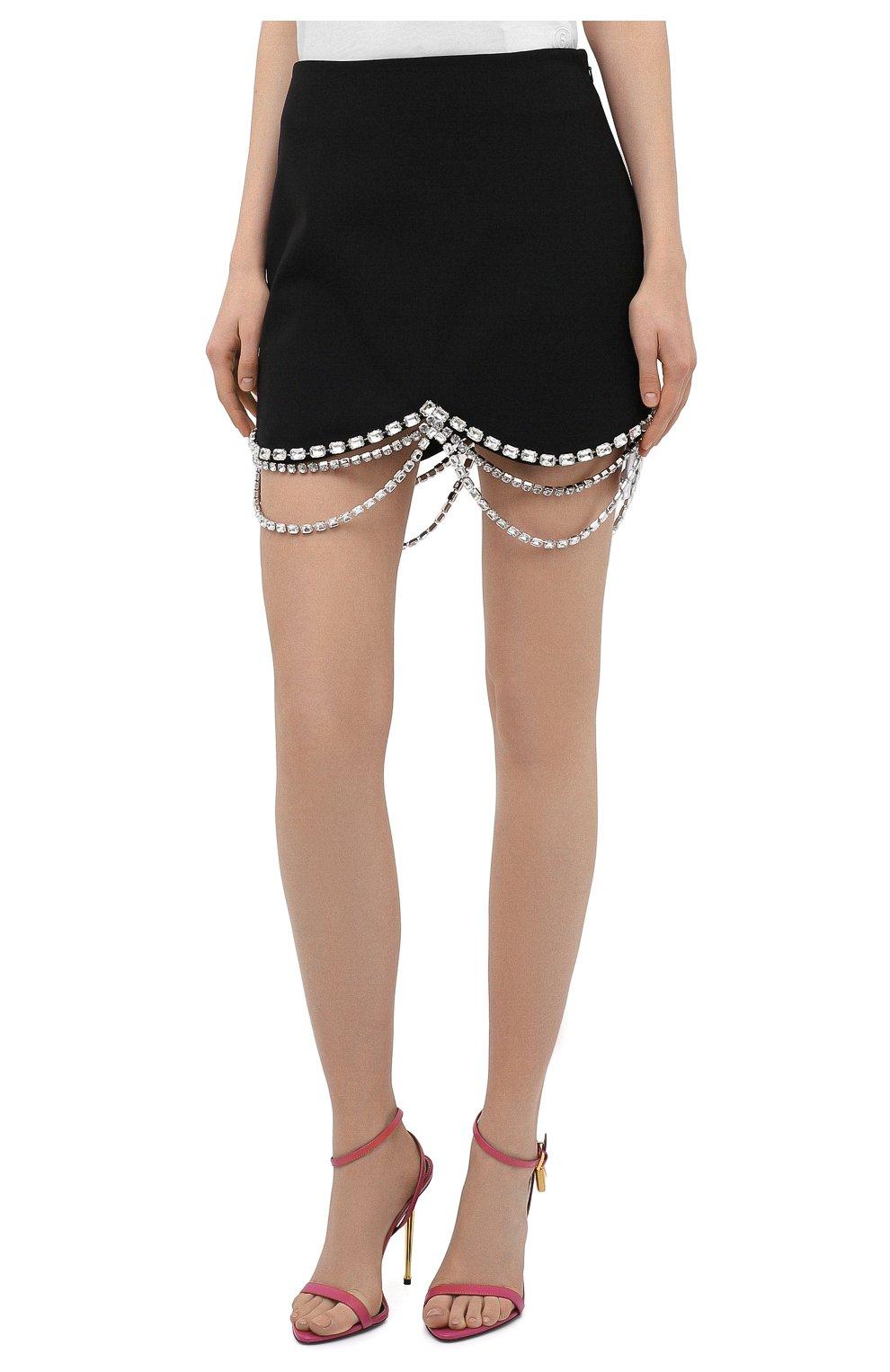 Женская юбка AREA черного цвета, арт. RE21S02032 | Фото 3