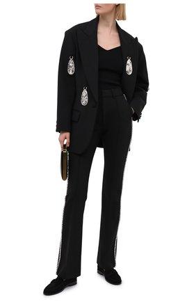 Женские брюки AREA черного цвета, арт. RE21P03032 | Фото 2