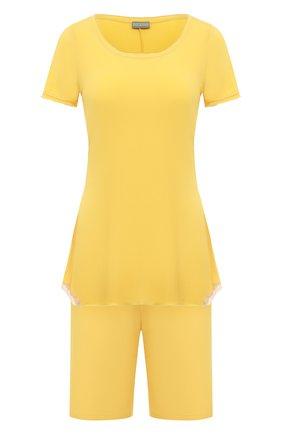 Женская пижама GIANANTONIO PALADINI желтого цвета, арт. S15PP02 | Фото 1
