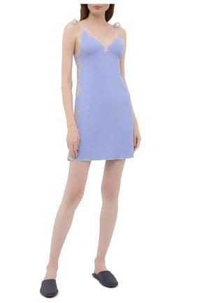 Женская сорочка GIANANTONIO PALADINI голубого цвета, арт. S15RC01/X | Фото 2