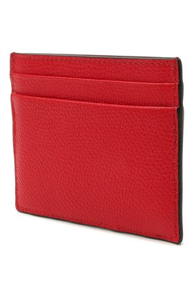 Женский кожаный футляр для кредитных карт  VALENTINO красного цвета, арт. VW0P0V32/SNP | Фото 2