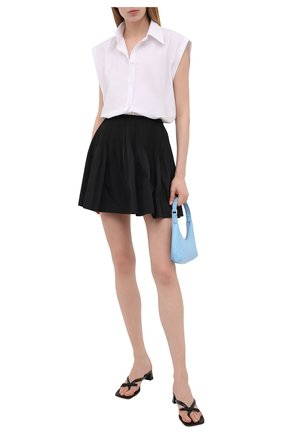Женская юбка REDVALENTINO черного цвета, арт. VR0RAG05/1FP | Фото 2