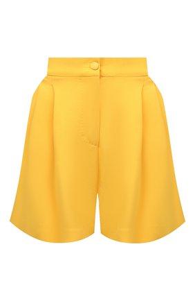 Женские шорты DOLCE & GABBANA желтого цвета, арт. FTB12T/FURDV   Фото 1
