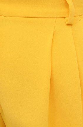 Женские шорты DOLCE & GABBANA желтого цвета, арт. FTB12T/FURDV | Фото 5 (Женское Кросс-КТ: Шорты-одежда; Стили: Гламурный; Длина Ж (юбки, платья, шорты): Мини; Материал внешний: Синтетический материал, Вискоза)