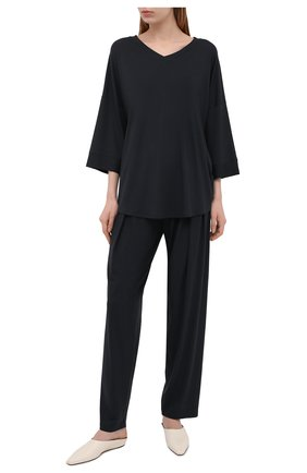 Женские брюки ZIMMERLI темно-серого цвета, арт. 700-4161 | Фото 2