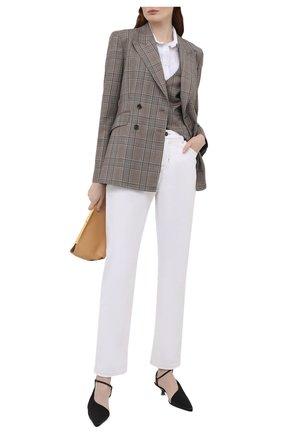Женские джинсы TOM FORD белого цвета, арт. PAD057-DEX127 | Фото 2