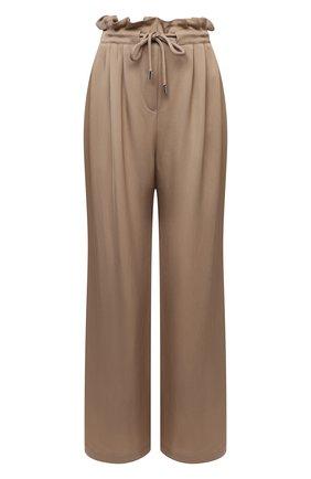 Женские брюки EMPORIO ARMANI бежевого цвета, арт. 3K2P88/2N7RZ   Фото 1