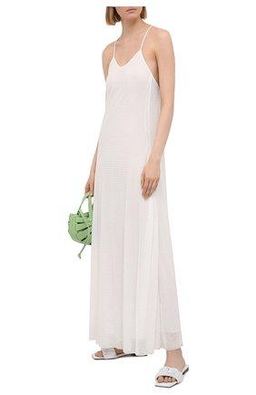 Женское платье EMPORIO ARMANI белого цвета, арт. 3K2A8P/2JW5Z   Фото 2