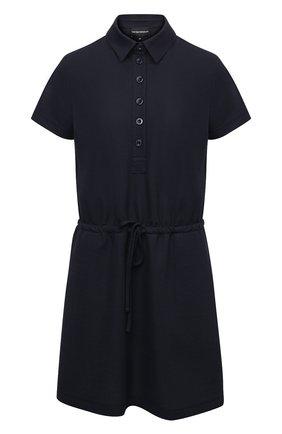 Женское платье EMPORIO ARMANI темно-синего цвета, арт. 3K2A7L/2JQHZ   Фото 1