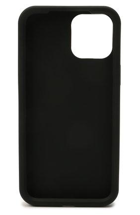 Чехол для iphone 12 pro max DOLCE & GABBANA черного цвета, арт. BI2908/A0700 | Фото 2